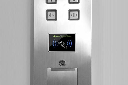 防复制梯控控制器采用IC卡非接触卡技术